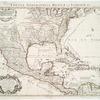 Carte du Mexique et de la Floride : des terres angloises et des Isles Antilles, du cours et des environs de la riviere de Mississipi