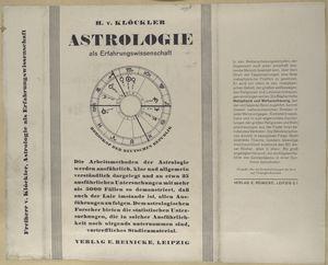 Astrologie als Erfahrungswissenschaft.