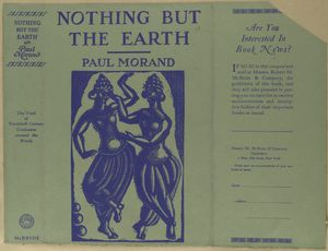 Nothing but the earth.