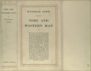 Time and western man.