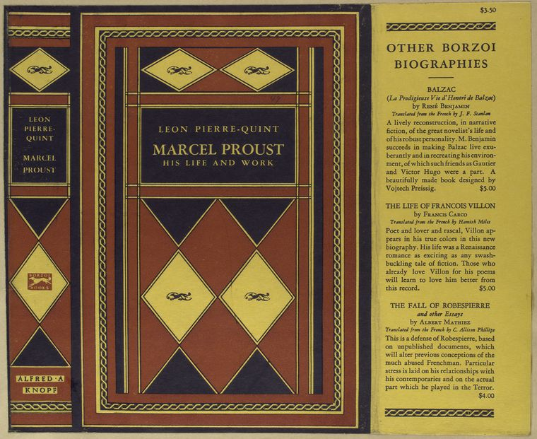 Marcel Proust, his life and work.