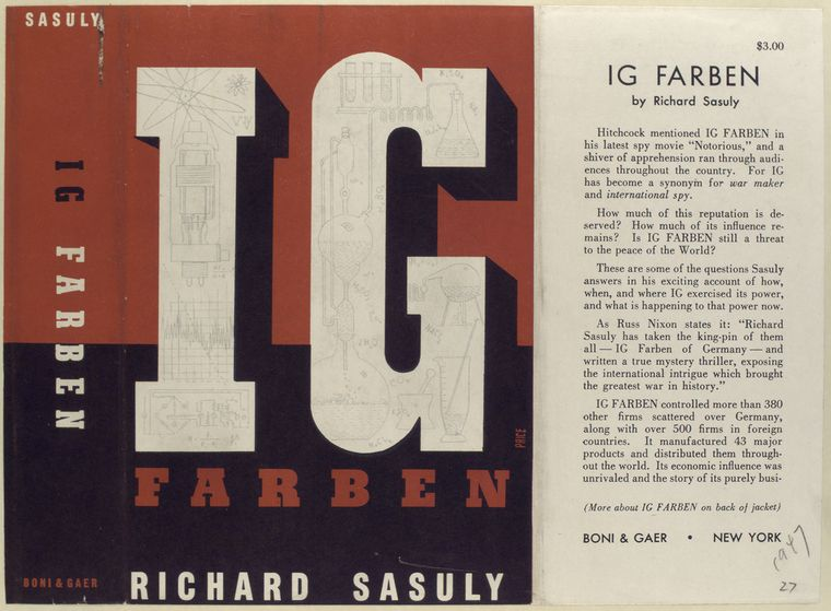 IG Farben, by Richard Sasuly.