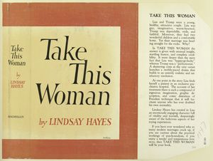 Take this Woman, by Lindsay Hayes.