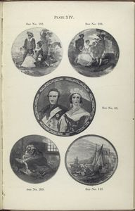 The fair sportswoman (no.188); The flute player (no. 238); Queen Victoria and Prince Consort (no.69); A pretty kettle of fish (no.209); Herring fishing: examining the nets (no. 113).