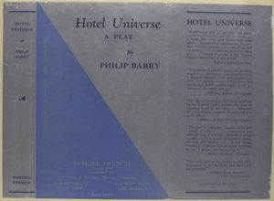 Hotel universe, a play.
