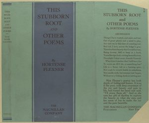 This stubborn root and other poems.
