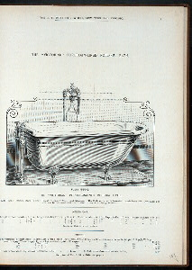 The 'Victorian' porcelain-lined roll-rim bath. Plate 960-G.