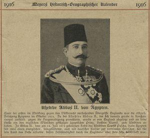 Khedive Abbas II.