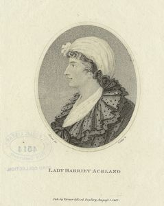 Lady Harriet Ackland.