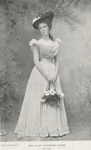 Miss Agnes Crittenden Adams, New York.