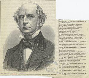 Hon. Charles F. Adams, U. S. minister to England.