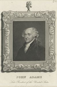 John Adams, late president of the United States.