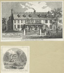 Residence of the Adams' family, Quincy, Mass. ; Richmond Hill, first residence of Mr. and Mrs. John Adams.