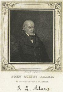 John Quincy Adams, 6th president of the U. S. of America.
