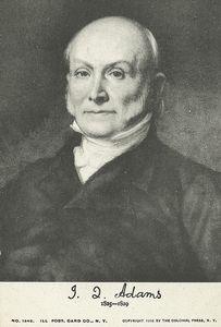 J. Q. Adams, 1825-1829.