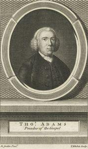 Tho. Adams, preacher of the gospel.