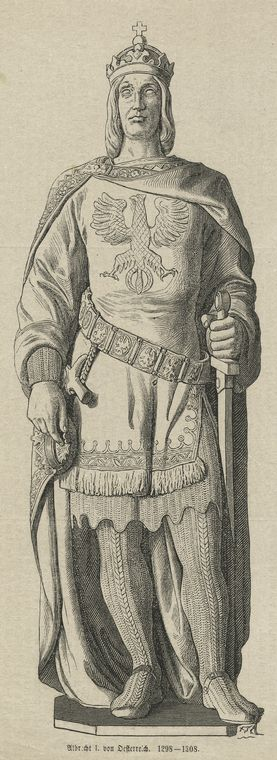 Albrecht I von Oesterreich, 1298-1308.