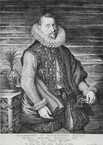 Albert, Archduke of Austria [reproduction of an engraving after Rubens].