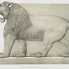 Colossal lion, Great Entrance (Nimroud) [Nimrud].