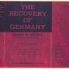 The recovery of Germany.