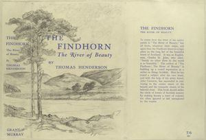 The Findhorn : the river of beauty.