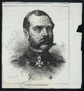 Alexander II., Czar of all the Russias.
