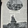 Zur enthüllung des denkmals für den Zaren Alexander III. (1881 bis 1894) zu Moskau am 12. Juni.