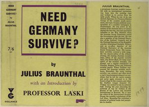 Need Germany survive?