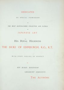 Dedication to His Royal Highness The Duke of Edinburgh, K.G., K.T.