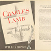 Charles Lamb and his friends.