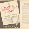 Charles Lamb and his friends.