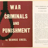 War criminals and punishment.