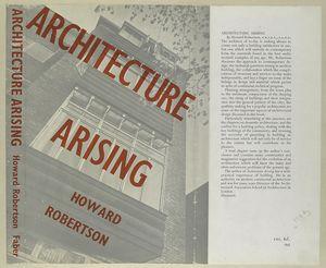 Architecture arising.