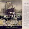 Two solitudes.