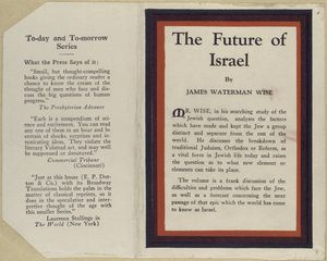The future of Israel.