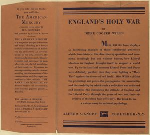 England's holy war.
