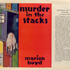 Murder in the stacks, by Marion Boyd.