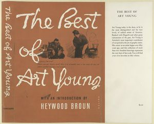 The best of Art Young / with a introduction by Heywood Brown.