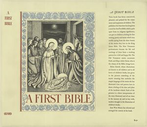 A first Bible  / illustrated by H. Sewell.