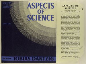 Aspects of science / by Tobias Dantzig.