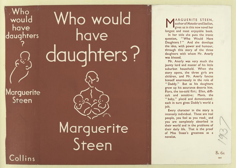 Who would have daughters? / by Marguerite Steen.