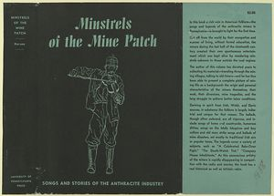 Minstrels of the mine patch; songs and stories of the anthracite industry / by George Korson.