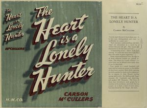 The heart is a lonely hunter / by Carson McCullers.