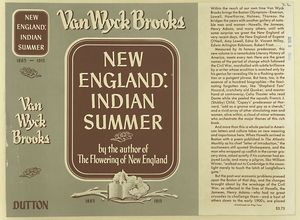 New England : Indian summer / Van Wyck Brooks.