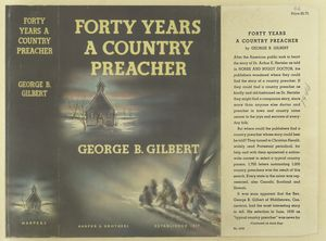 Forty years a country preacher.