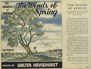The winds of spring.