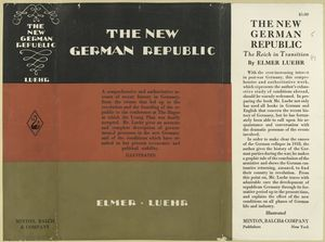 The new German republic.