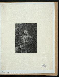 [Queen Alexandra, wife of King Edward VII of Great Britan.]
