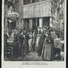 The ceremony in the Cathedral of Atocha, the marriage of the king of Spain.