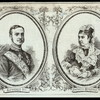 Alphonso XII [and] Infanta Mercedes : A review before the Royal Palace at Madrid ; The marriage of the king of Spain in Madrid today.